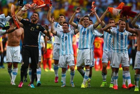 Argentina v Belgium: Quarter Final - 2014 FIFA World Cup Brazil