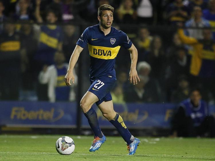 Jonathan Calleri de Boca Juniors Buenos Aires Boca Juniors Buenos Aires vs Rosario Central Copa TO