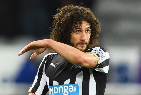 during the Barclays Premier League match between Newcastle United and Sunderland at St James' Park on December 21, 2014 in Newcastle upon Tyne, England.