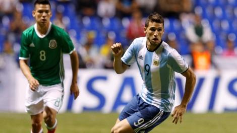 Football Soccer - Mexico v Argentina- International Friendly- 2016 Rio Olympics