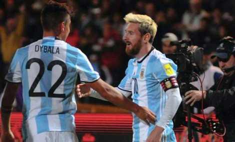 Messi-Dybala