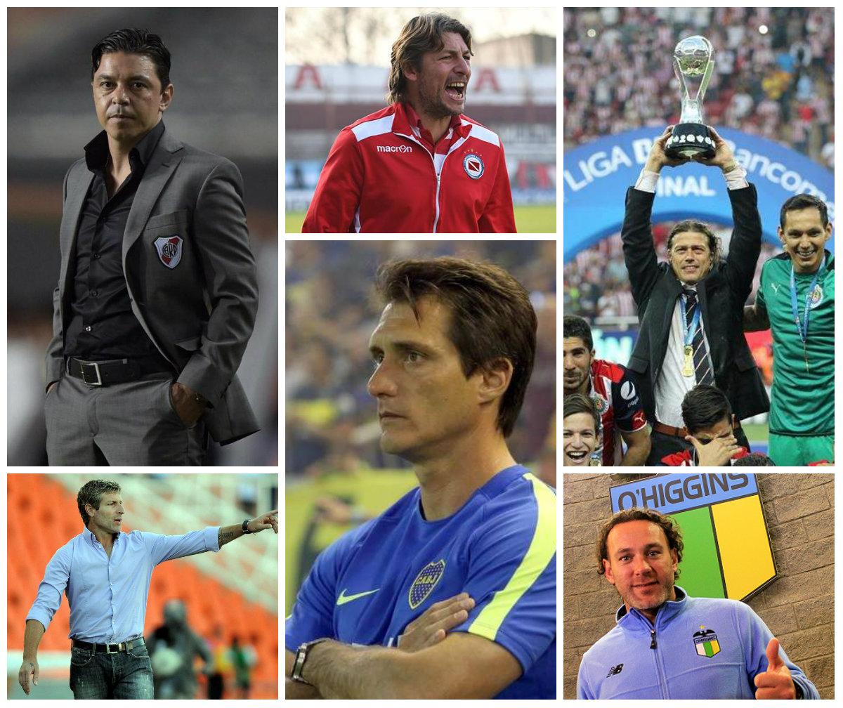 The Former Argentina Internationals Hoping To Be The Next Diego Simeone Or Mauricio Pochettino Golazo Argentino