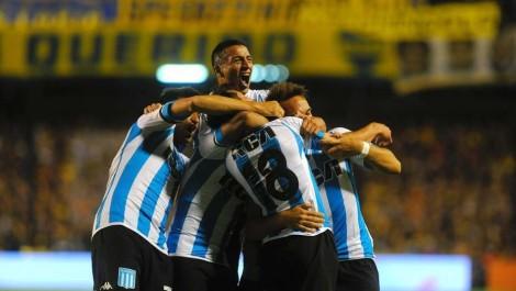Segundo Gol  Boca vs Racing 19/11/17 Foto: Mario Quinteros