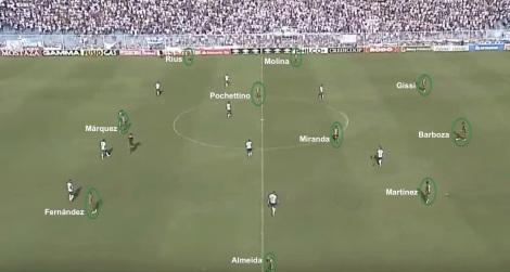 DYJ 3-4-3 (vs Tucuman)