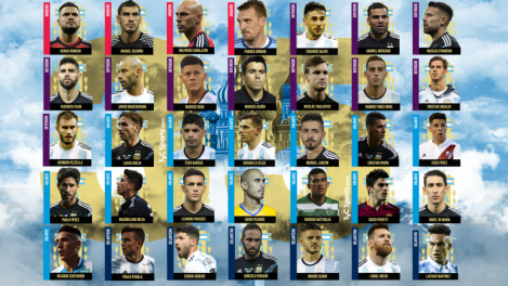 argentina world cup squad