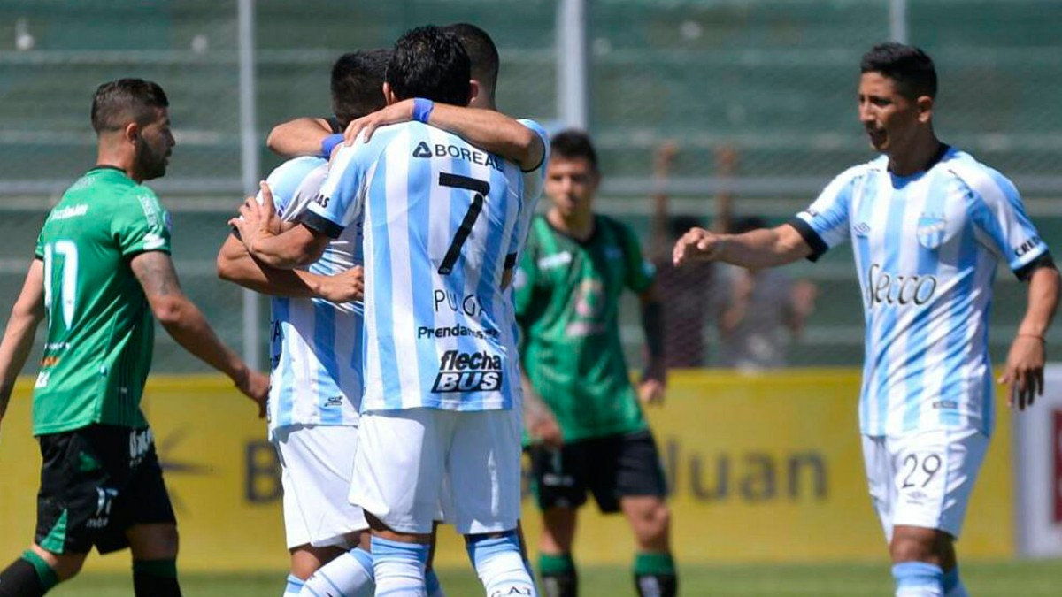Atletico Tucuman Go Top With Victory In San Juan Huracan See Off Tigre Gimnasia Peg Back Central Argentinos Held By San Martin Video Golazo