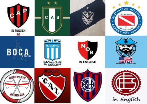 argentine english logos