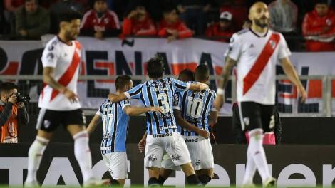 Copa Libertadores - Argentina's River Plate v Brazil's Gremio Semi Final First Leg